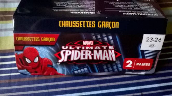chausettes-spiderman