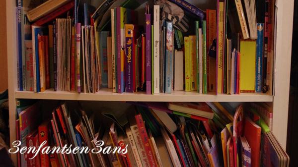 1 étagères de livres pour enfant