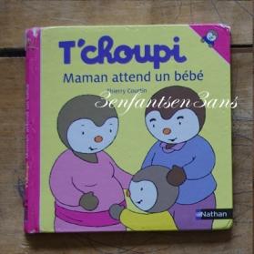 tchoupi maman attend bébé
