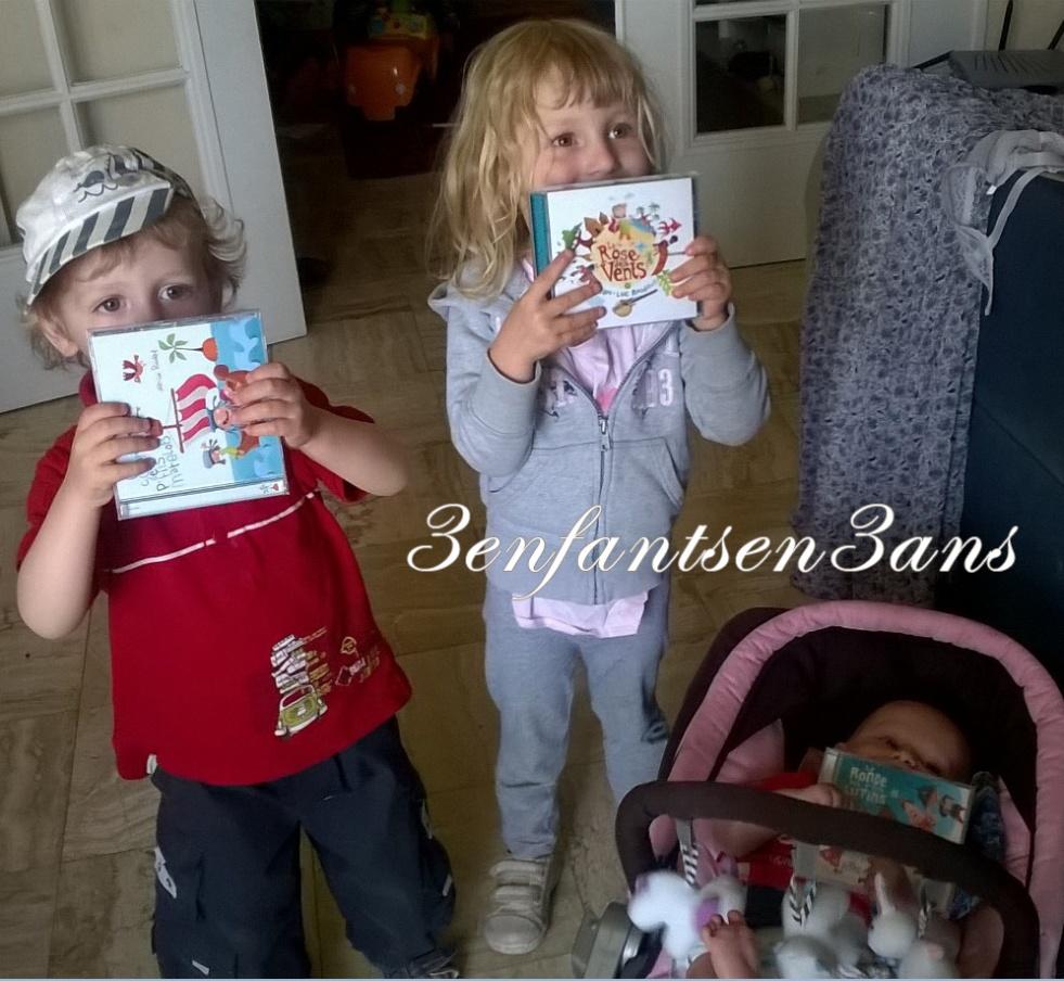 Disques Roudaut 3 enfants en 3 ans