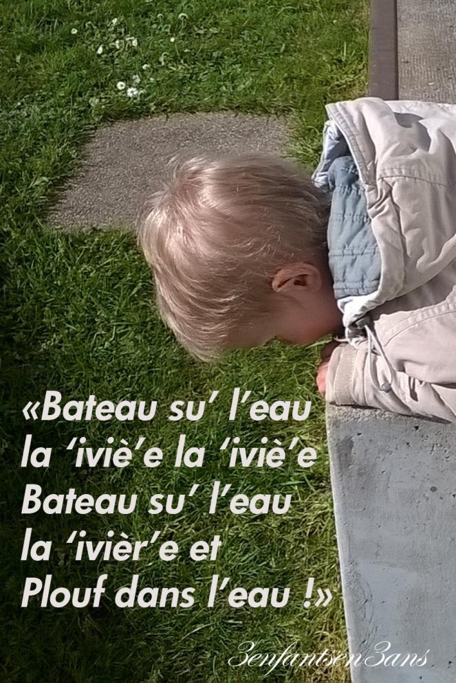 3 enfants en 3 ans Loulou Bateau