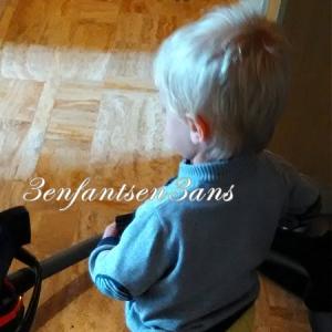 3 enfants en 3 ans Loulou PG Aspiratueur