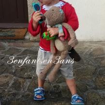 3 enfants en 3 ans Loulou PG Doudou Castor