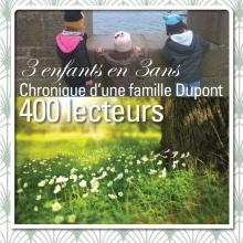 3enfantsen3ans 400 lecteurs