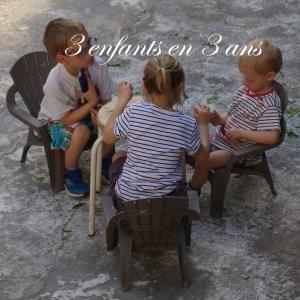 3 enfants en 3 ans fete des meres
