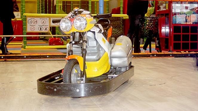 La moto de 'Games Kingdom'