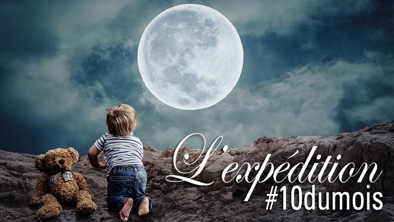 3 enfants en 3 ans enfant doudou pleine lune