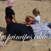Les principes éducatifs et moi.