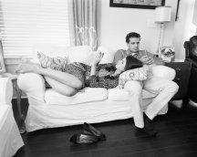 couple sans smartphone